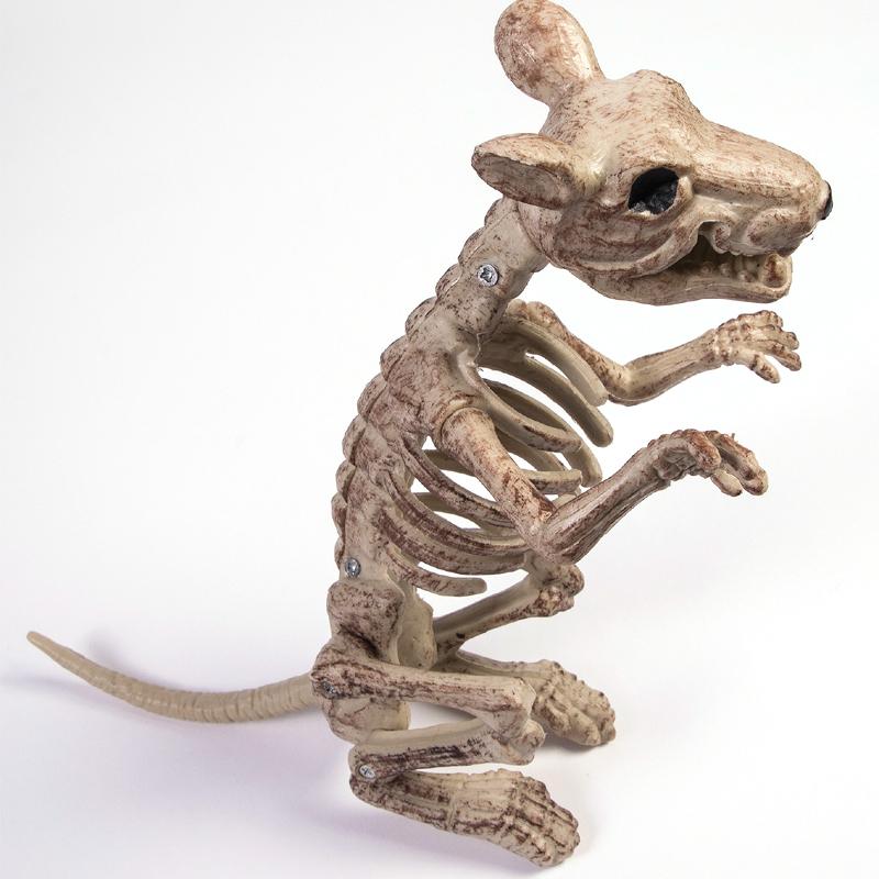 Plastic Rat Skeleton Halloween Decoration Prop - Cappel\'s