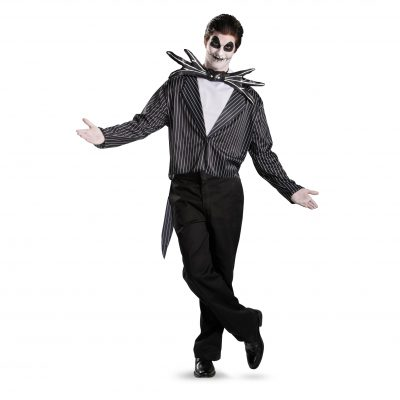 Nightmare Before Christmas Jack Skellington Adult Halloween Costume
