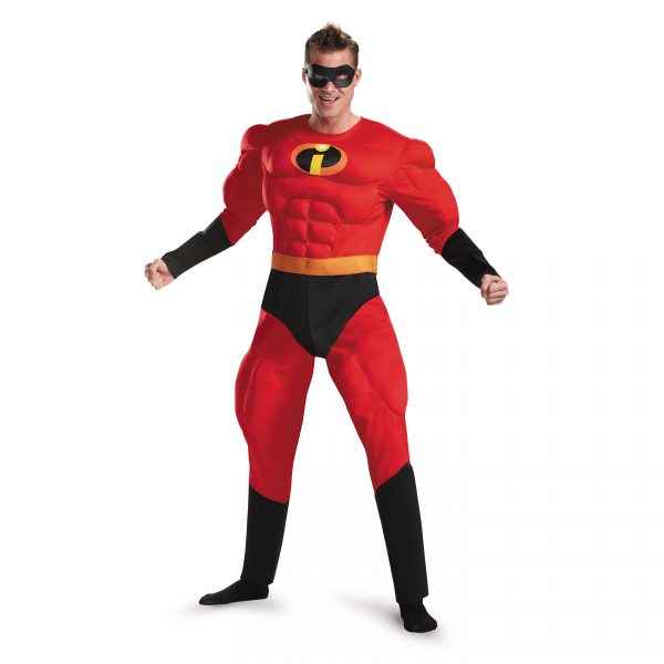 Mr Incredible Muscle Chest Adult Costume