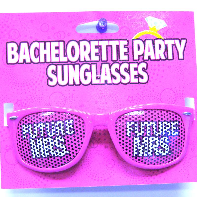 Novelty Bachelorette Future Mrs Mesh Eyeglasses