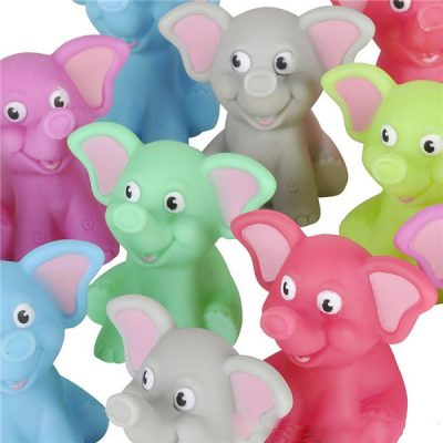 Rubber Elephant - Assorted Colors