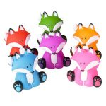 Rubber Fox - Assorted Colors