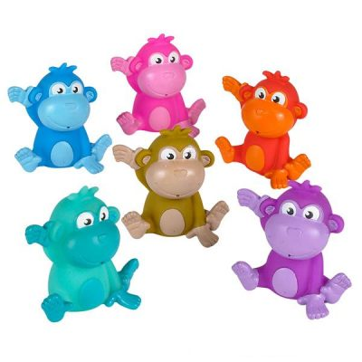 Rubber Monkey - Assorted Colors