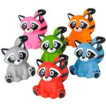 Rubber Raccoon - Assorted Colors