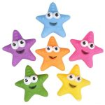Rubber Star Fish - Assorted Colors