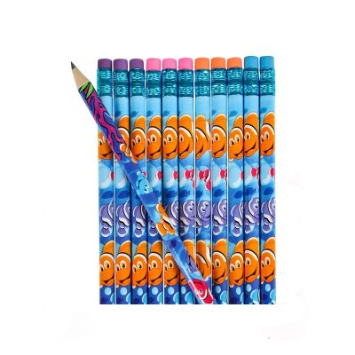 Clownfish print pencils 12 pack