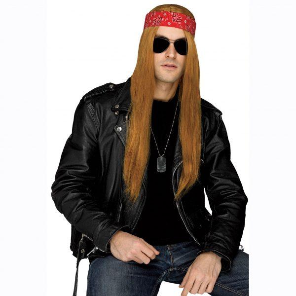 Grunge Rocker Wig with Bandana