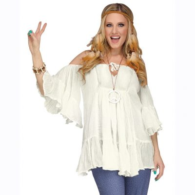 Hippie Gauze Blouse Top