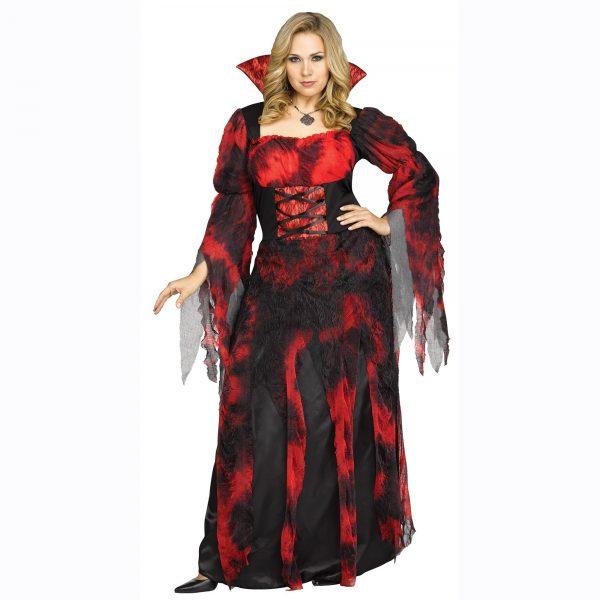 Vampire Countessa Plus Size Costume