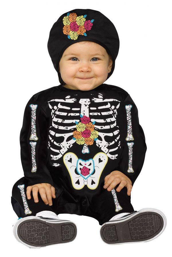 Day of Dead Skeleton Infant Jumpsuit