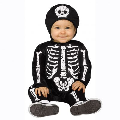 Baby Bones Infant Skeleton Costume