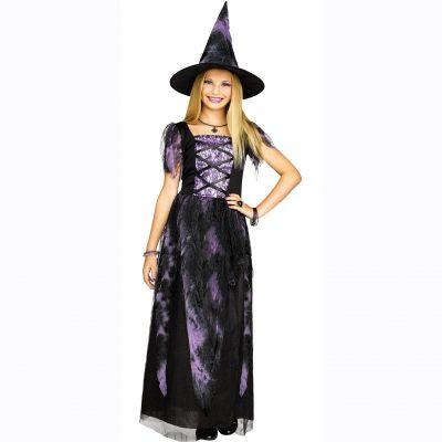 Girls Starlight Witch Halloween Dress