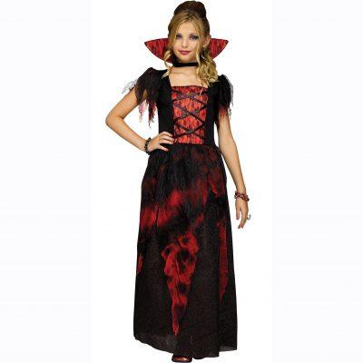 Vampire Countessa Costume Dress