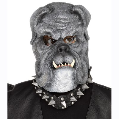 Black Bull Dog Mask
