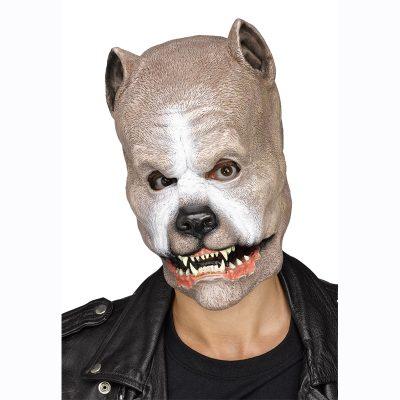 Light Brown Pit Bull Mask