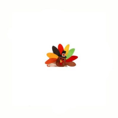 Turkey Headband One Size Wrap-Around