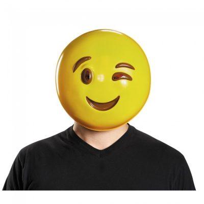 Smile Face Wink Emoji Masks