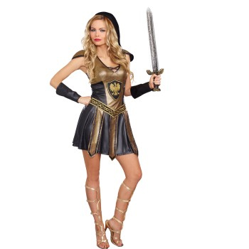 Deadly Warrior Female Halloween Costume
