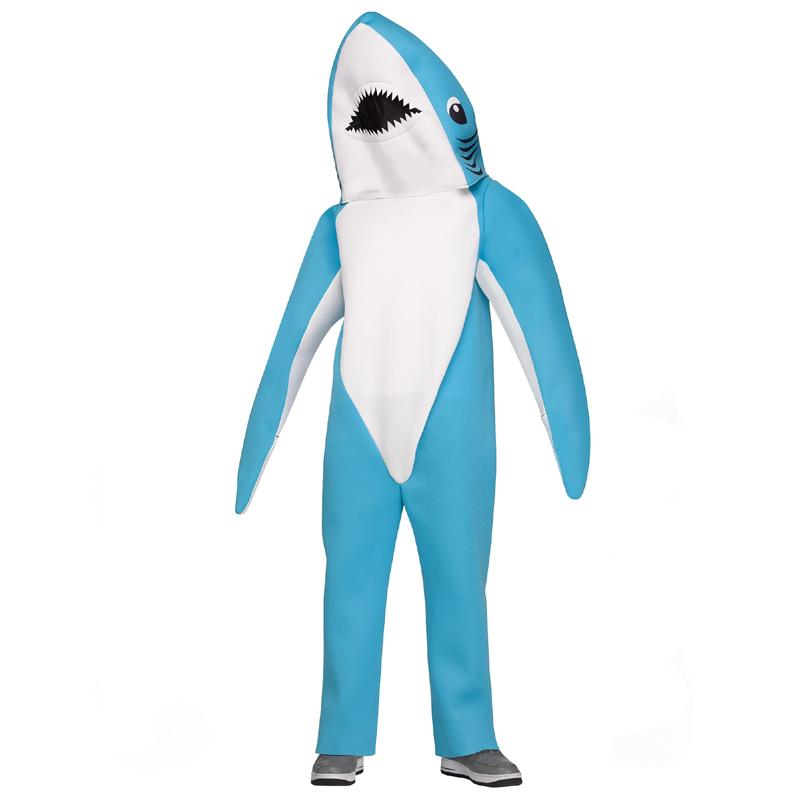 Full Size Shark Mascot Costume