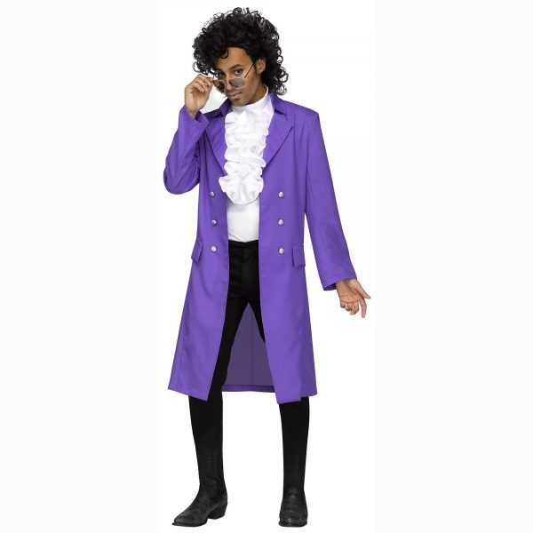 Rockin 80s Pupple Pain Prince Like Costume