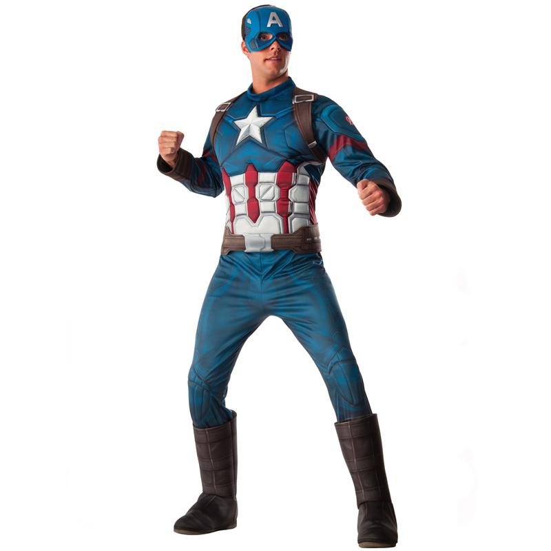 Captain America Civil War Adult Halloween Costume