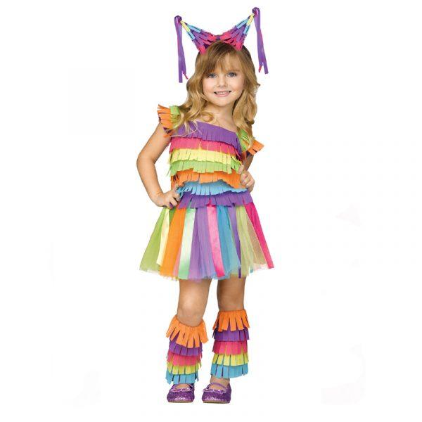 Colorful Girls Pinata Costume