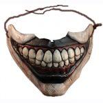 Twisty Clown Mouth Half Mask