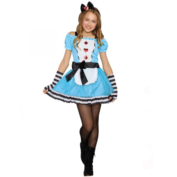Miss Wonderland Sugar Sugar Teen Halloween Costume
