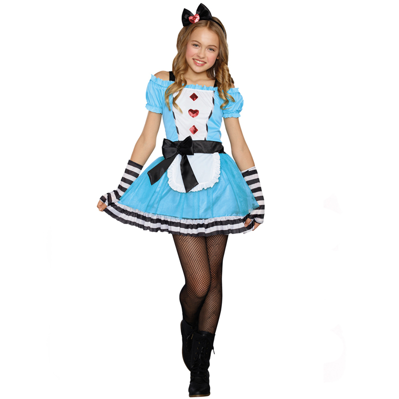 miss wonderland sugar sugar teen halloween costume