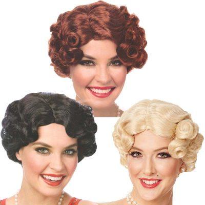1920s Daisy Wigs - short curl