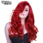 Henna Red Peek-A-Boo Lace Front Wig
