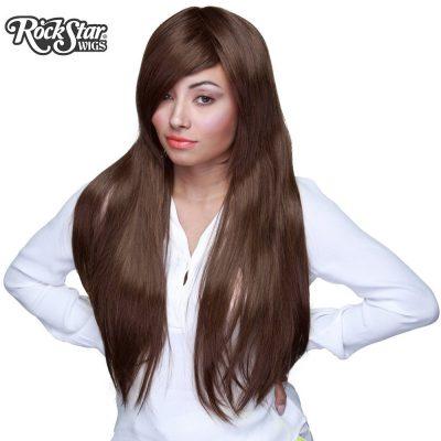 Dark Brown Long Cosplay Wig