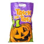 Plastic Halloween Trick Treat Bag 11 x 17 inches