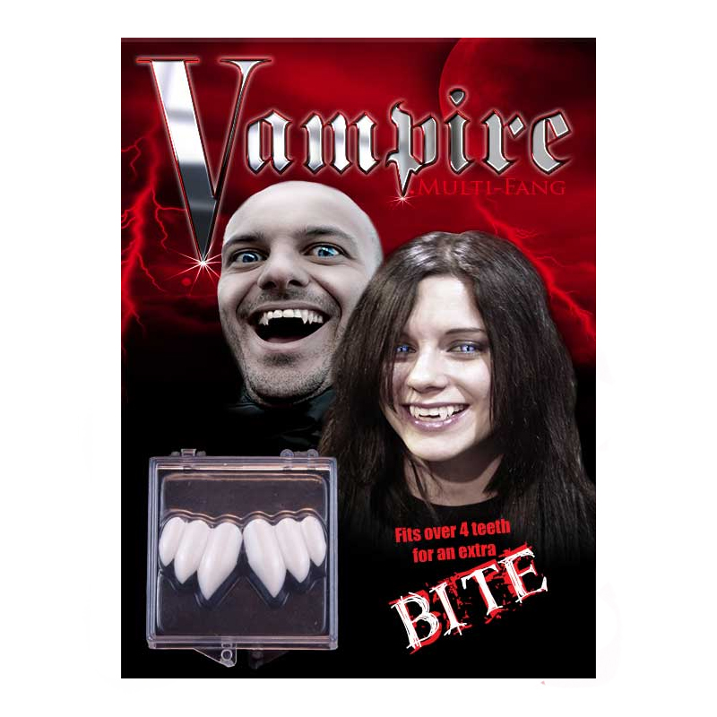 Billy Bob Custom Fitting Triple Vampire Teeth