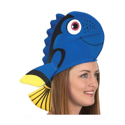 Printed Fabric Fish Hat