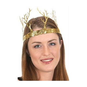 Gold Metal Branched Crown