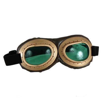 Deluxe Aviator Goggles Costume Halloween Accessory
