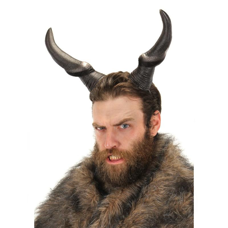 Deluxe Foam Beast Horns Halloween Costume Accessory