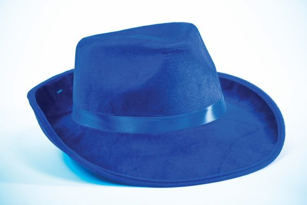 Fedora Solid Color Fabric Adult Hat