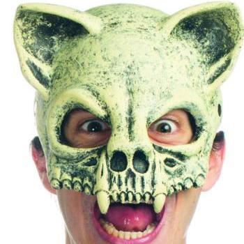 Supersoft Foam Halloween Mask Medieval Cat