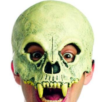 Supersoft Foam Halloween Mask Wasteland Skull