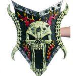 25 inch Deluxe Foam Warlord Skull Shield