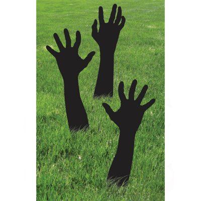 Zombie Shadow Hands Halloween Decoration