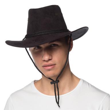 Promo Suede Western Cowboy Hat Black