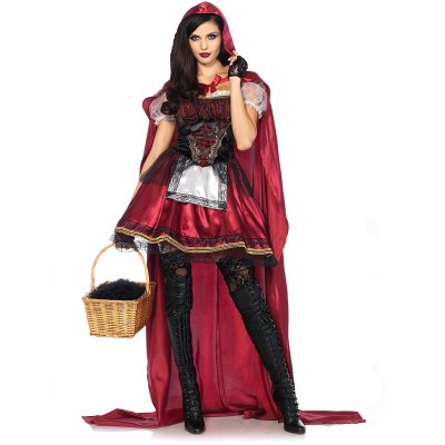 Captivating Miss Red Riding Hood Halloween Costume