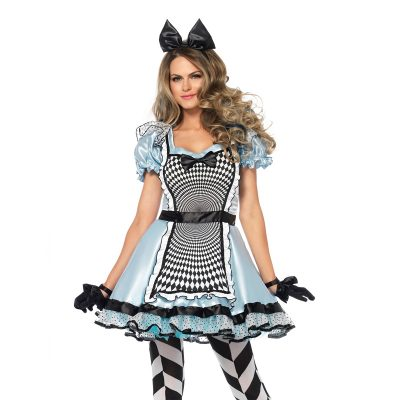 Hypnotic Miss Alice in Wonderland Halloween Costume