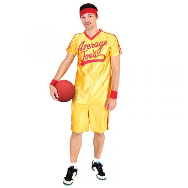 Dodge Ball Average Joe Halloween Costume Set