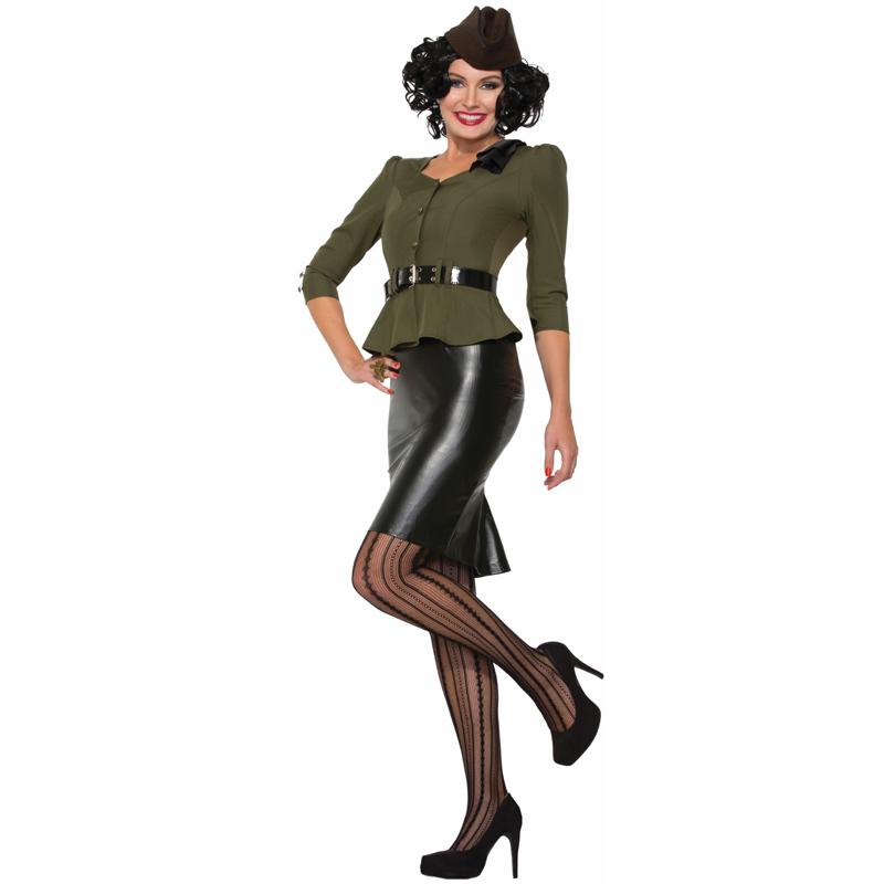 1940u0027s Missile Millie Adult Halloween Costume  sc 1 st  Cappelu0027s & Buy 1940u0027s Missile Millie Adult Halloween Costume - Cappelu0027s