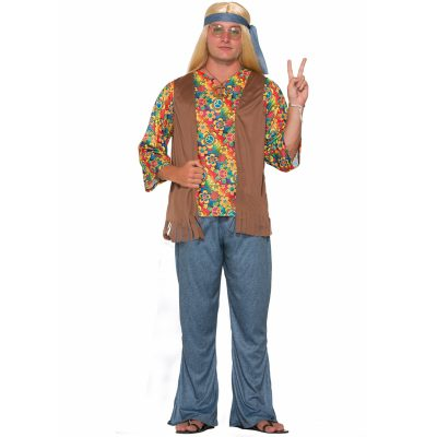 Hippie Dude Adult Halloween Costume