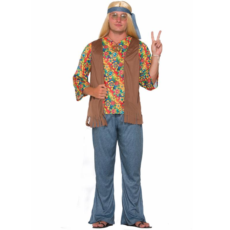 Hippie Dude Adult Halloween Costume